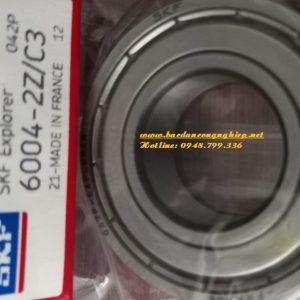 VÒNG BI SKF 6004 2Z/C3, BẠC ĐẠN 6004 2Z/C3 SKF